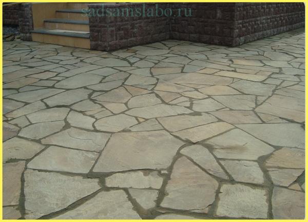 Укладка тротуаров натуральным камнем